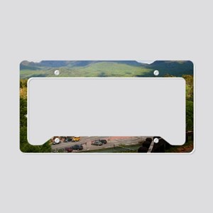 LakePlacidS Mini poster License Plate Holder